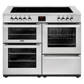 Image of Belling 444444096 Cookcentre Prof 110E 110cm Electric Range Cooker St