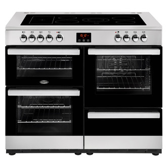 Image of Belling 444444097 Cookcentre 110E 110cm Electric Range Cooker St St