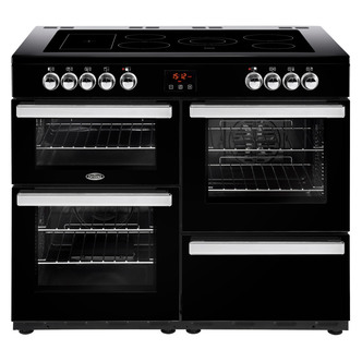 Belling 444444098 Cookcentre 110E 110cm Electric Range Cooker Black