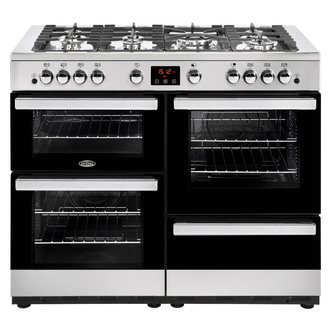 Image of Belling 444444100 Cookcentre 110G 110cm Gas Range Stainless Steel