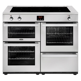 Belling 444444102 Cookcentre Prof 110Ei 110cm Electric Range Cooker St