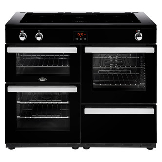 Belling 444444104 Cookcentre 110Ei 110cm Electric Range Cooker Black