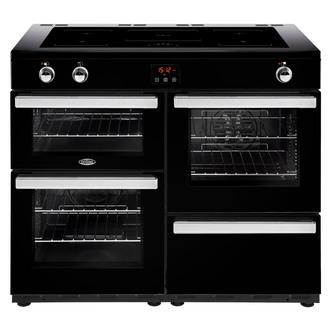 Image of Belling 444444104 Cookcentre 110Ei 110cm Electric Range Cooker Black