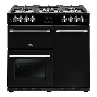 Belling 444444127 Farmhouse 90G 90cm Gas Range Cooker in Black