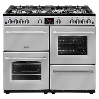 Image of Belling 444444140 Farmhouse 100G 100cm Gas Range Cooker in Silver