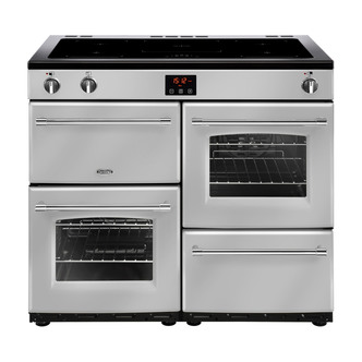 Image of Belling 444444143 Farmhouse 100Ei 100cm Electric Range Cooker in Silve