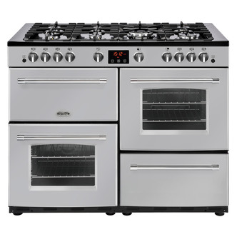 Image of Belling 444444152 Farmhouse 110G 110cm Gas Range Cooker in Silver