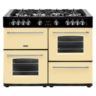 Image of Belling 444444153 Farmhouse 110G 110cm Gas Range Cooker in Cream