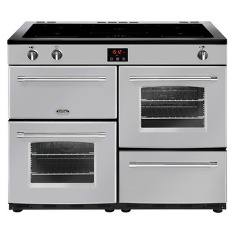 Image of Belling 444444155 Farmhouse 110Ei 110cm Electric Range Cooker in Silve