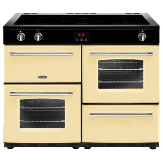 Belling 444444156 Farmhouse 110Ei 110cm Electric Range Cooker in Cream