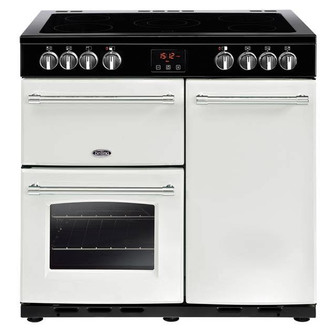 Belling 444444228 Farmhouse 90E CB 90cm Electric Range Cooker Icy Broo