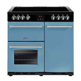 Belling 444444229 Farmhouse 90E CB 90cm Electric Range Cooker Day s Br