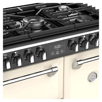 Stoves 444444436 Richmond S900DF 90cm Dual Fuel Range Cooker in Cream