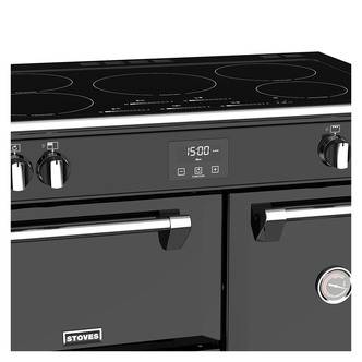 Stoves 444444445 Richmond S900Ei 90cm Induction Range Cooker in Black