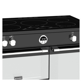 Stoves 444444487 Sterling S900Ei 90cm Induction Range Cooker in Black