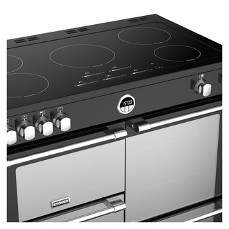 Stoves 444444497 Sterling S1000Ei 100cm Induction Range Cooker in Blac