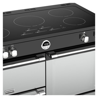 Stoves 444444507 Sterling S1100Ei 110cm Induction Range Cooker in Blac