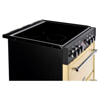 Image of Belling 444444710 Farmhouse 60cm Ceramic D Oven Cooker in Cream