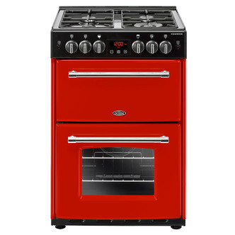 Image of Belling 444444718 Farmhouse 60DF 60cm Gas D Oven Cooker in Jalapeno