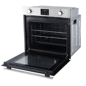 Image of Belling 444444775 Built In Single Electric Fan Oven in St Steel Blueto
