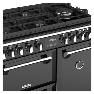 Stoves 444444899 Richmond DX S900GTG 90cm Dual Fuel Range Cooker Black