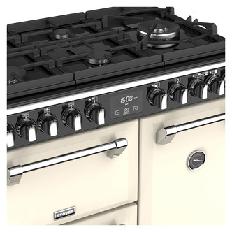 Stoves 444444900 Richmond DX S900GTG 90cm Dual Fuel Range Cooker Cream