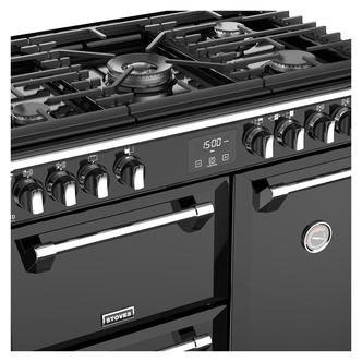 Stoves 444444903 Richmond DX S900G 90cm Gas Range Cooker in Black