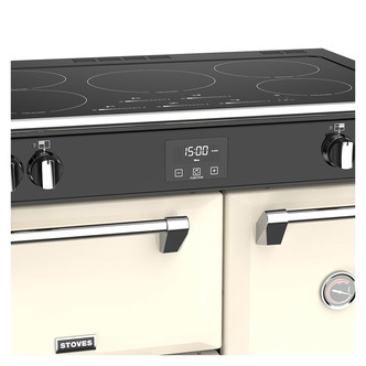 Stoves 444444906 Richmond DX S900Ei 90cm Induction Range Cooker in Cre
