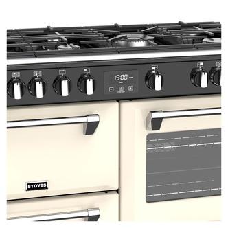 Stoves 444444914 Richmond DX S1000G 100cm Gas Range Cooker Cream