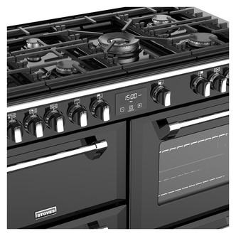 Stoves 444444923 Richmond DX S1100G 110cm Gas Range Cooker Black