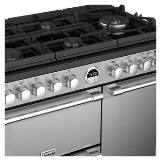 Image of Stoves 444444934 Sterling DX S900DF GTG 90cm Dual Fuel Range St St