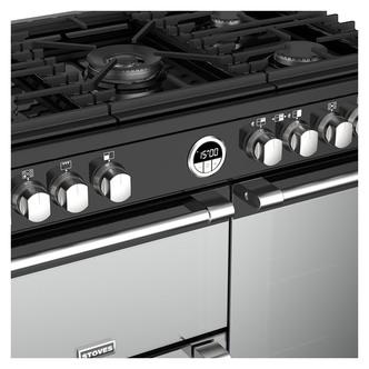 Stoves 444444935 Sterling DX S900G 90cm Gas Range Cooker in Black
