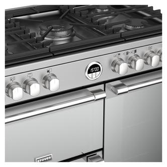 Stoves 444444936 Sterling DX S900G 90cm Gas Range Cooker in St Steel