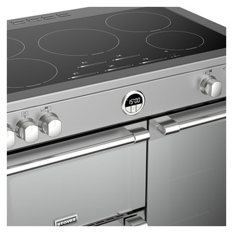 Stoves 444444940 Sterling DX S900Ei 90cm Induction Range Cooker in St