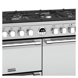 Image of Stoves 444444942 Sterling DX S1000DF 100cm Dual Fuel Range Cooker St S