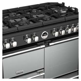 Stoves 444444943 Sterling DX S1000DF GTG 100cm Dual Fuel Range Black