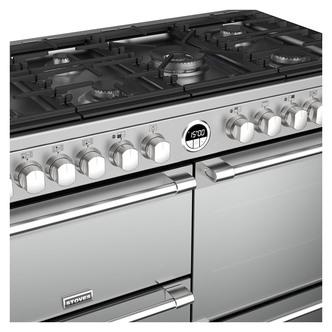 Image of Stoves 444444952 Sterling DX S1100DF 110cm Dual Fuel Range Cooker St S