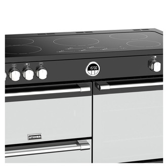 Stoves 444444959 Sterling DX S1100Ei 110cm Induction Range Cooker Blac