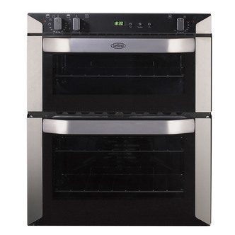 Belling 444449587 Built Under Electric Double Oven Stainless Steel 70c