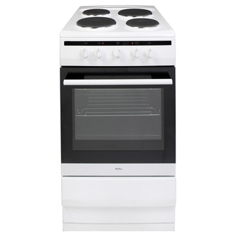 Image of Amica 508EE1W 1 50cm Electric Cooker in White 2yr Warranty A Rated