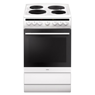 Compare retail prices of Amica 508EE2MSW 50cm Electric Cooker in White 2yr Warranty A Rated to get the best deal online