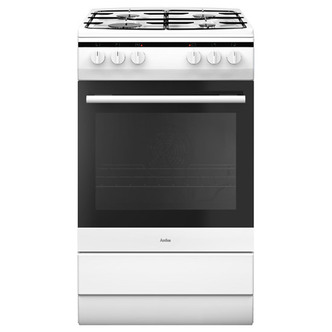 Amica 508GG5W 50cm Gas Cooker in White 2yr Warranty FSD A Rated