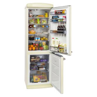 Britannia 544446213 Breeze Retro Frost Free Fridge Freezer Cream A Rat