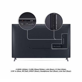 LG 55NANO956NA 55 8K HDR UHD NanoCell Smart LED TV Full Array