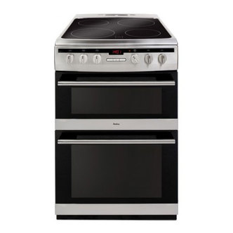 Amica 608DCE2TAXX 60cm Double Oven Electric Cooker St Steel Ceramic Ho