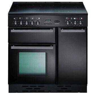 Rangemaster 64320 90cm TOLEDO Ceramic Range Cooker in Gloss Black