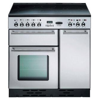 Rangemaster 68960 90cm TOLEDO Ceramic Range Cooker in St Steel