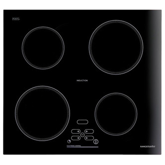 Rangemaster 85740 RI60 60cm Built In Induction Hob Bevelled Black Glas