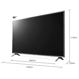 LG 86UN85006LA 86 4K HDR UHD Smart LED TV Dolby Vision IQ Atmos