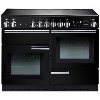 Rangemaster 91780 110cm PROFESSIONAL Induction Range In Black